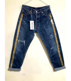 Jeans Levis Vintage Bande Oro