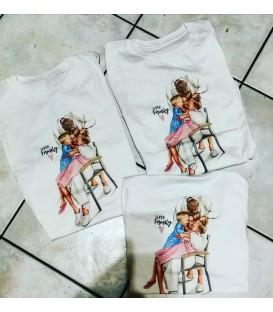 T shirt Family Mum