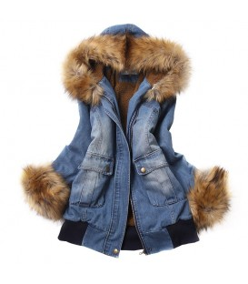 Parka DENIM HOOD