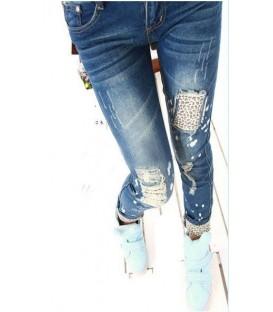 Jeans Leopardati