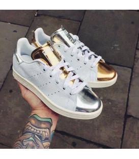 Adidas Stan Smith Gold & Silver