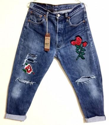 Jeans Levis Vintage RedRose