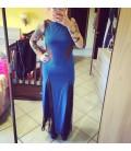 Maxi Vestito Blu