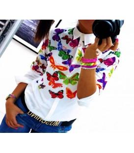 Camicia Farfalle